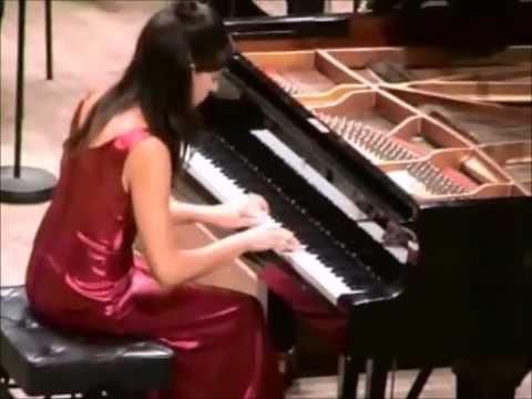 Yamile Cruz Montero - Sergei Prokofiev Piano Concerto No.3 in C major, Op 26 (part 1)