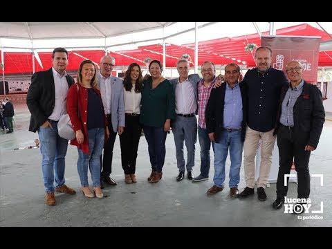 VÍDEO: El PSOE de Lucena celebró la I Fiesta de la Rosa