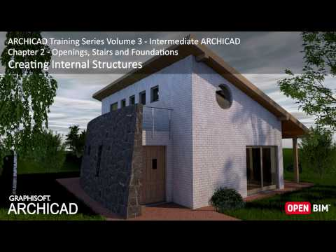 Creating Internal Structures - ARCHICAD Training Series 3 – 15/52