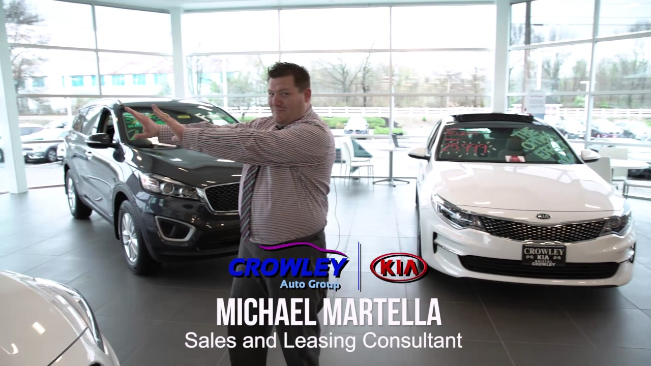 At Crowley Kia, The Perks Are Endless! See What Keeps Our Customers Coming  Back!