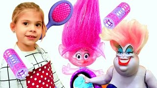 Видео для девочек - Видео для девочек. Игра парикмахерская