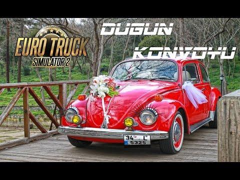 Euro Truck Simulator 2 | Düğün Konvoyu