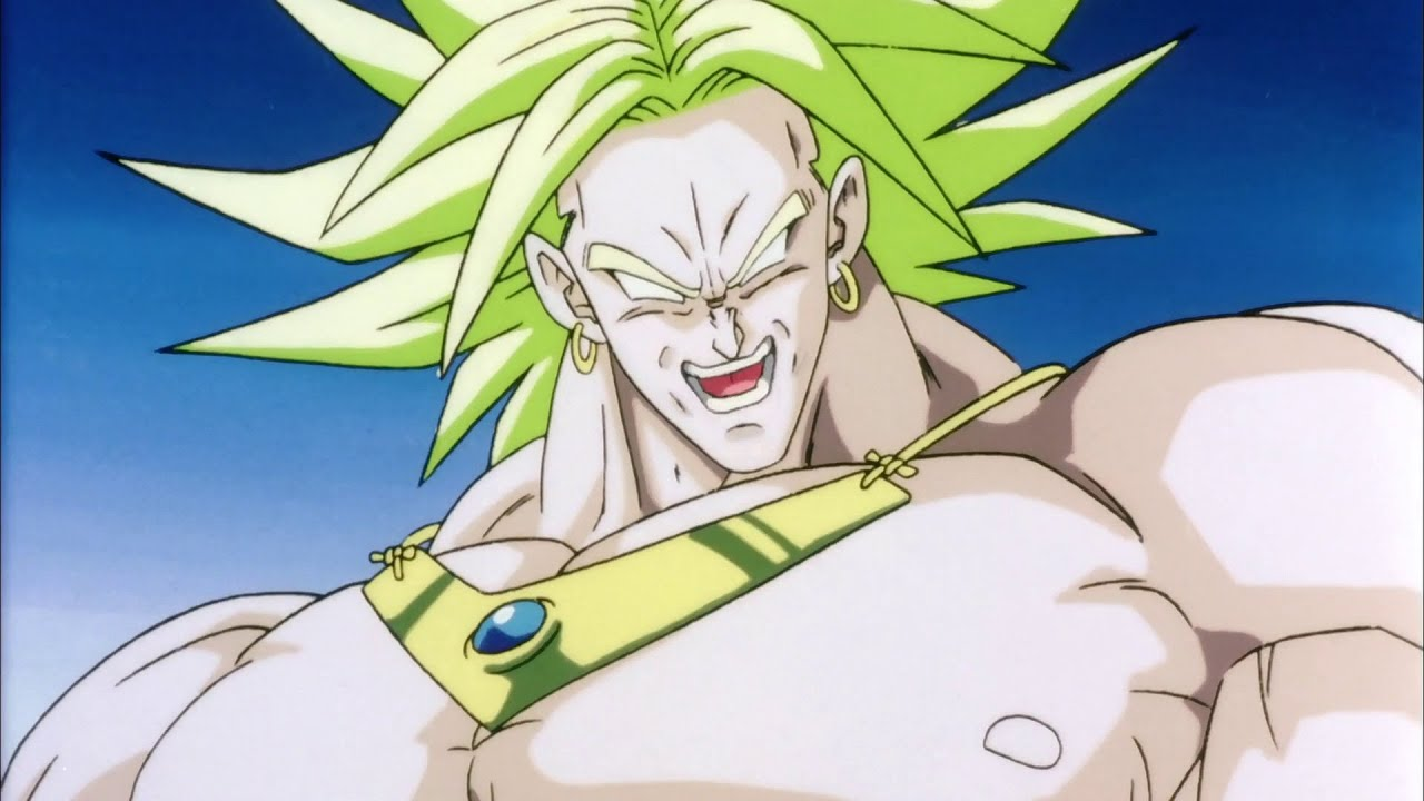 Image result for Broly The LEgendary Super Saiyan