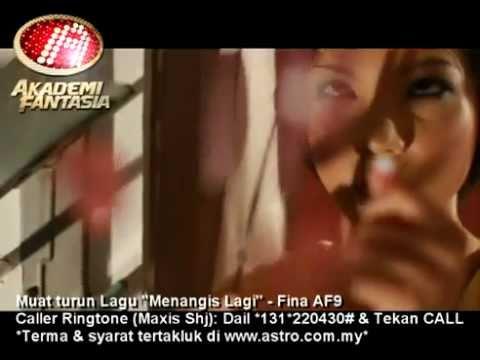 Fina AF9 - Menangis Lagi [MV]