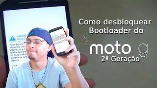 Como desbloquear o bootloader do Motorola Moto g 2ª geração   E tirar a mensagem de bootloader desbl