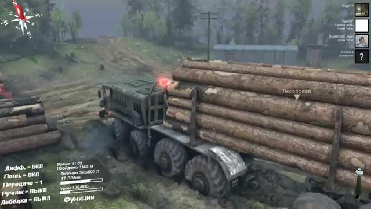 Скачать игру симулятор бездорожья на грузовиках