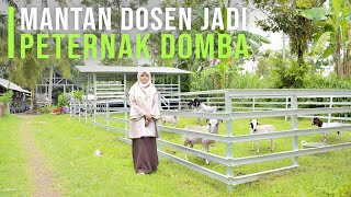 Resign Dari Dosen Kini Sukses Ternak Domba \u0026 Penggerak Pemuda Untuk Berternak