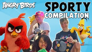 Angry Birds   Sporty Trick Shot Compilation