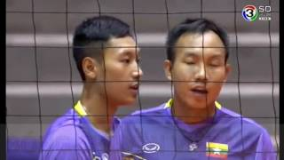 THAILAND VS MYANMAR l 2018 MEN'S WORLD VOLLEYBALL CHAMPIONSHIP  QUALIFICATION