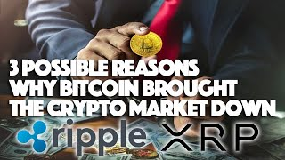 Ripple XRP: 3 Possible Reasons Why Bitcoin Brought The Crypto Market Down
