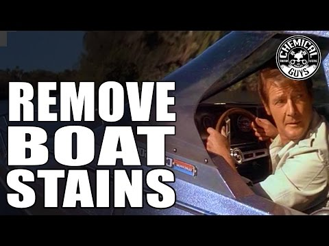 How To Remove Water Spots On Jetskis And Boats - Chemical Guys Marine Care