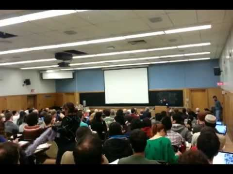 Astronaut Chris Hadfield surprise live phone call to class
