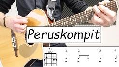 Perus kitarakompit ja helppoja kitara harjoituksia