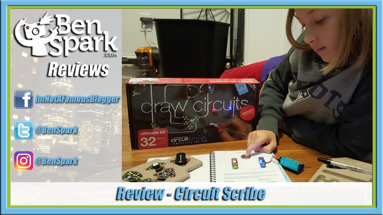 Scribe Draw Circuits Instantly With Conductive Silver Ink Youtube