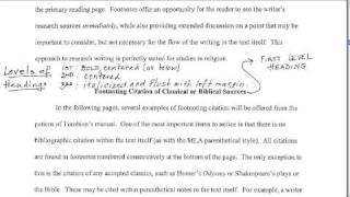 Term Paper Format(Tutorial showing the Turabian Manual., 2009-09-21T19:46:12.000Z)