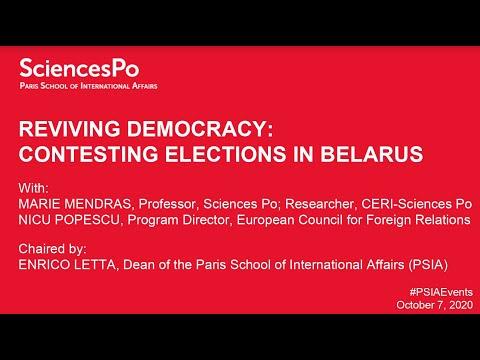 Reviving Democracy: Contesting Elections in Belarus
