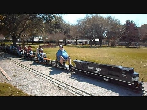 Miniature Model Trains You Can Ride On