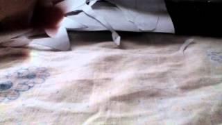 Платье для балерины из бумаги
