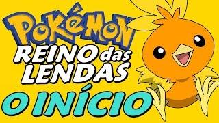 Pokémon Ruby Destiny: Reign of Legends - O Início (Gameplay em Português)