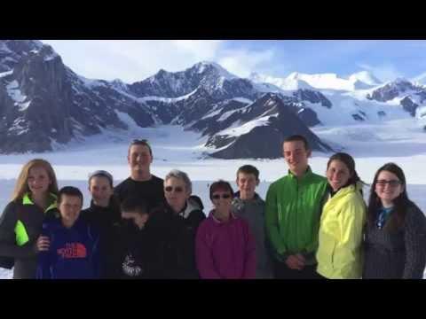 Mt. McKinley flightseeing with glacier landing July 31, 2014