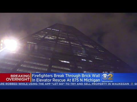 Brady - 6 Tourists Get Trapped In John Hancock Elevator