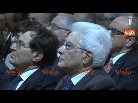 MATTARELLA ALL'INAUGURAZIONE DELL'ANNO ACCADEMICO DELL'UNIVERSITA' DI PALERMO