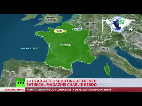 France Conducts Anti-terror Raid Following Attack On Charlie Hebdo