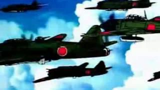 Japanese Kamikaze anime (Sonic Boom Squadron)