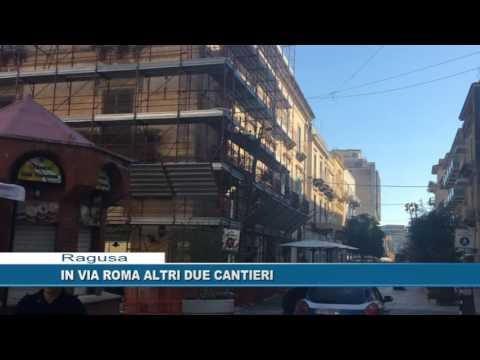 Ragusa. In via Roma altri due cantieri