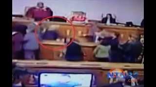 Agresión de Nancy Ascencio a María Corina Machado sí quedó registrada en video