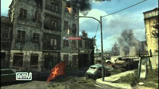【CoD MW3】投げナイフキル集(Throwing knife) kill part1