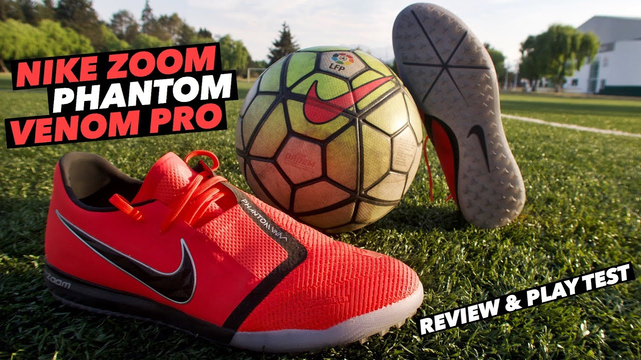 Lío Laboratorio lista  NIKE ZOOM PHANTOM VENOM PRO | REVIEW & PLAY TEST 🔥 - YouTube