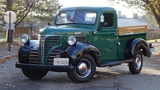1941 Plymouth P125 Stock #849-DET