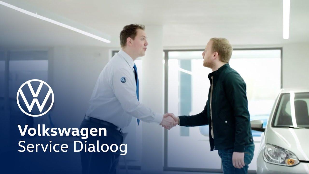 volkswagen service dialoog youtube