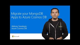 Migrate MongoDB apps to Azure Cosmos DB | T136