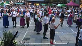 Aufsteirern 2018, Volkstanzkreis Laßnitzhöhe, Fackeltanz