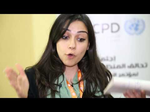 #ArabYouth4ICPD - Sazan M. Mandalawi from Iraq