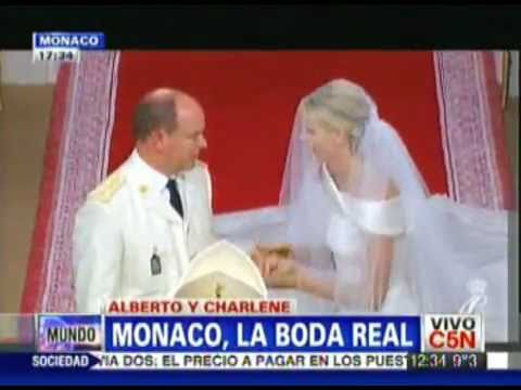 Boda  Real Del Principe Alberto De Monaco