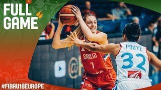 France v Serbia - Full Game - Semi-Final - FIBA U18 Women's European Championship 2017
