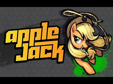 MLP Fighting Is Magic - Applejack Stage Theme