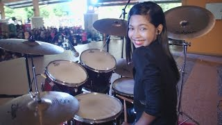 Download lagu Koi Mil Gaya LIVE Drum Cover by Nur Amira Syahira