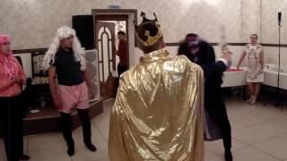 Прикольная сказка на свадьбе королевишны Софии