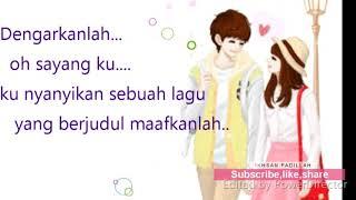 Lirik Reza Re Maafkanlah (versi animasi)