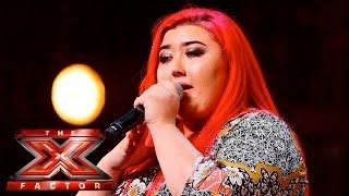 Jasmine Leigh Morris sings Emeli Sande's Clown | Auditions Week 2 | The X Factor UK 2015