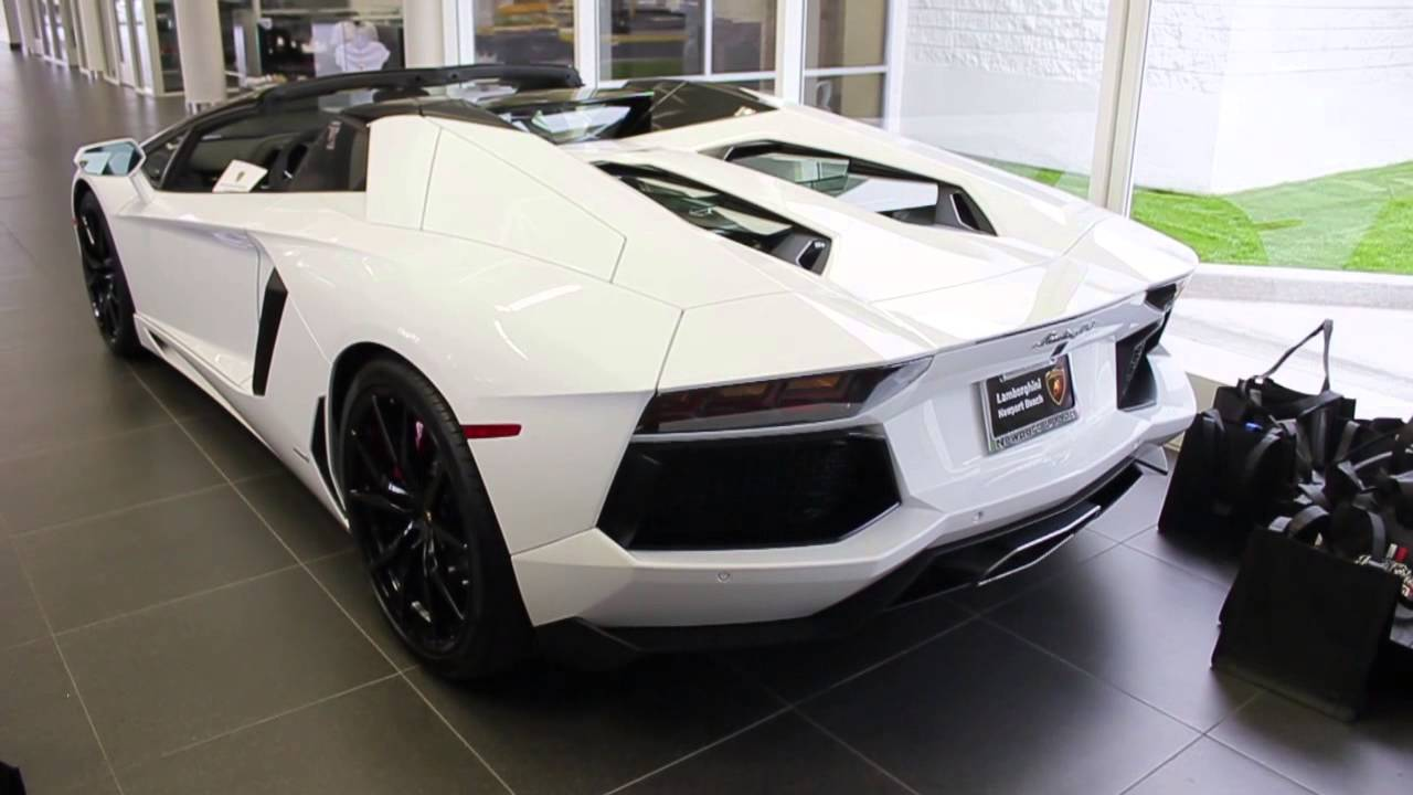 Superior 2014 Lamborghini Aventador LP700 4 ROADSTER Full Walk Around!   YouTube