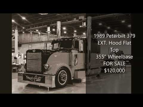 1989 Peterbilt 379 EXT. Hood Flat Top Stretched (SNEAKY PETE) For Sale
