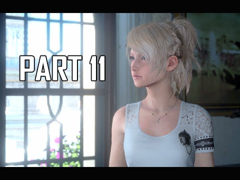 Final Fantasy 15 Walkthrough Part 11 - Party of Three (FFXV PS4 Pro Let's Play Commentary)