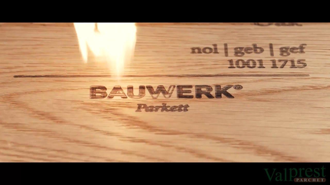Bauwerk Parkett Nachölen : Bauwerk parkett made in swiss valprest parchet youtube