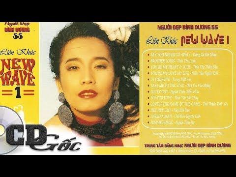 [CD Nhạc Xưa] LIÊN KHÚC NEW WAVE 1 - KIỀU NGA (Người Đẹp Bình Dương 55)