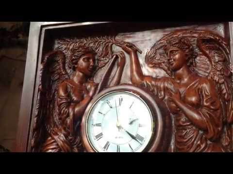 """Large Titanic Grand Staircase Clock: """"Honour and Glory Crowning Time"""""""
